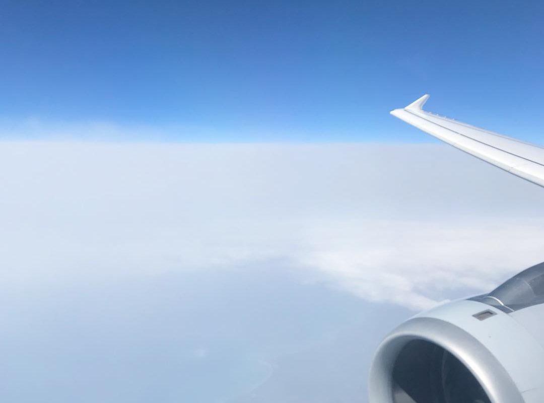 Rückflug nach Deutschland