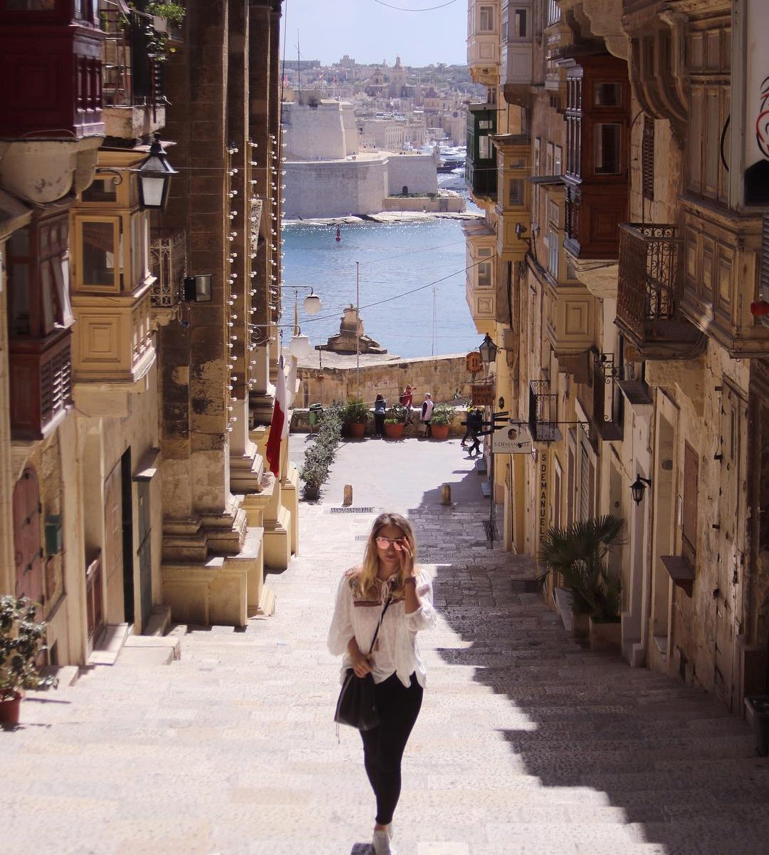 Strolling, Valletta