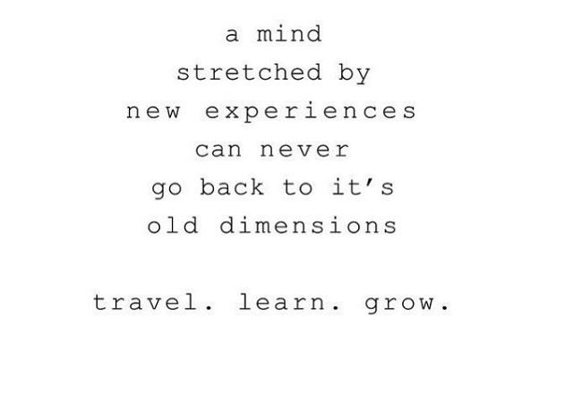 travel learn grow